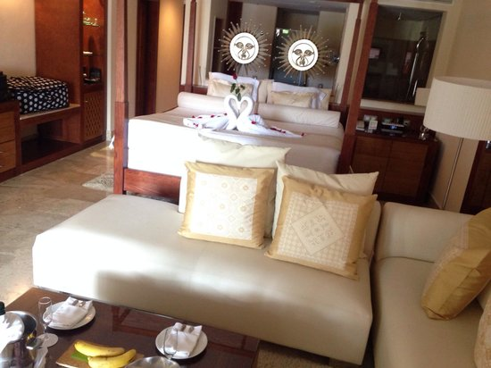Excellence Playa Mujeres: Room at arrival