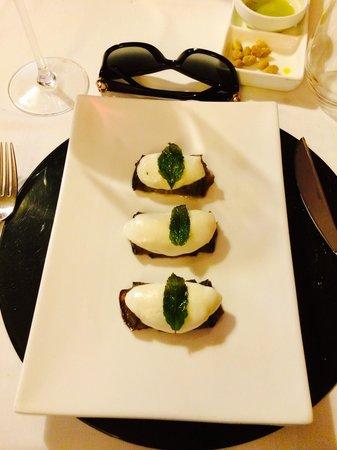 Restaurante Yerbaguena: Rollos de calabacín