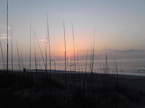 Golden Sands: Sunrise Over Carolina Beach