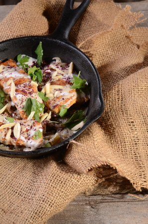 Dalal: Tarator- local fish fillet, caramelized onions, Tahina and other goods