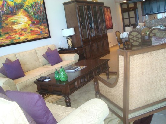 Grand Residences Riviera Cancun : Living rooms, suite 128
