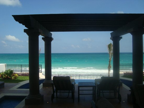 Grand Residences Riviera Cancun : Outdoor area, suite 128