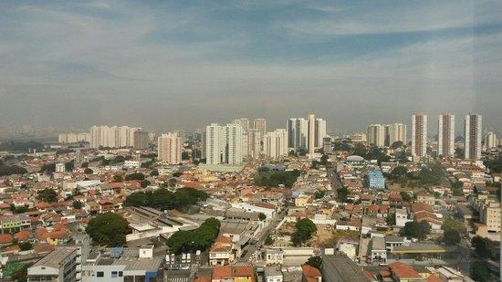 Slaviero Executive Guarulhos Aeroporto: Vista desde el piso 27