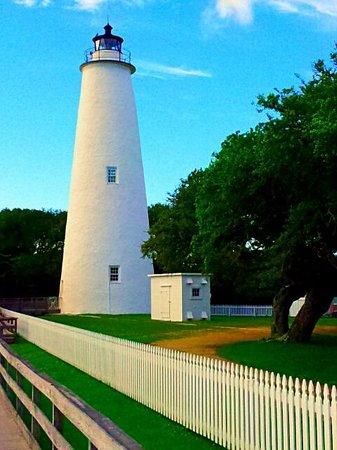 Ocracoke Lighthouse : The lighthouse