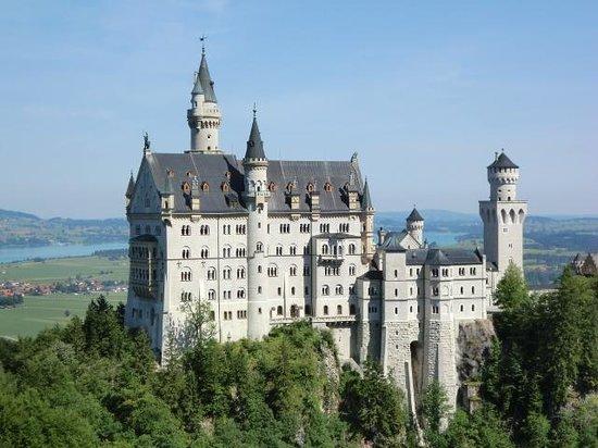 Neuschwanstein Castle: マリエン橋から