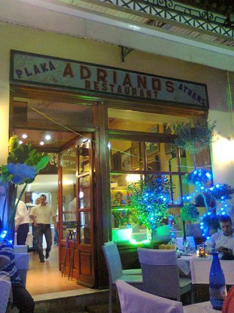 Adrianos Restaurant Athens Greece Picture Of Andrianos