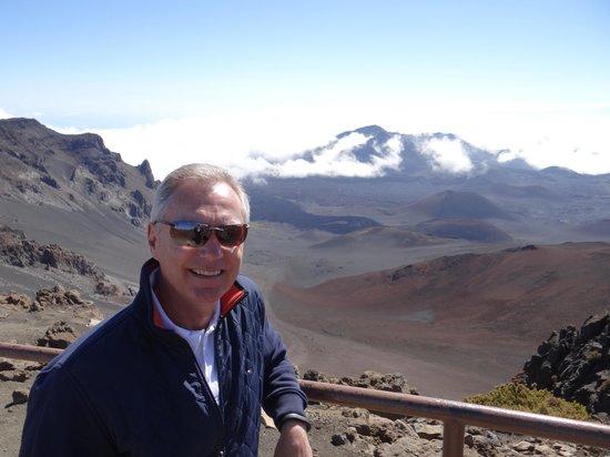 Mountain Riders : The top of Haleakela