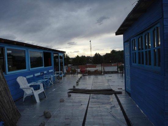 Hostel Internacional El Balcon: Terraza