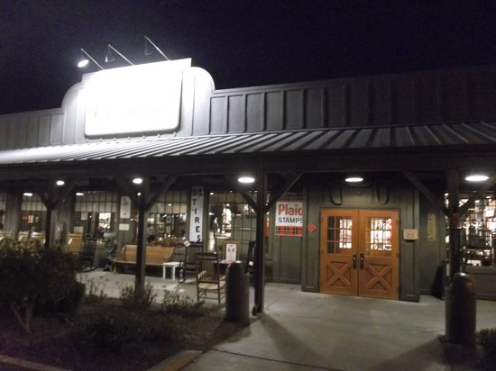 Cracker Barrel: By the night - April 13th 2014.