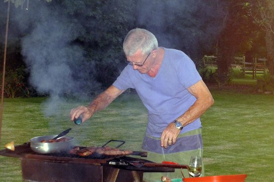 Tantivvey Country Guest House: Ted the chef