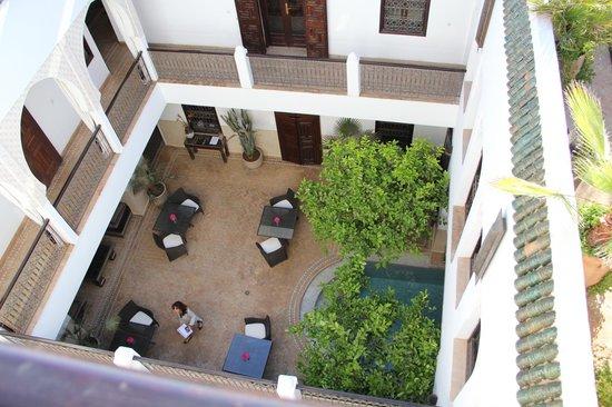 Riad Assakina : Vista desde la terraza