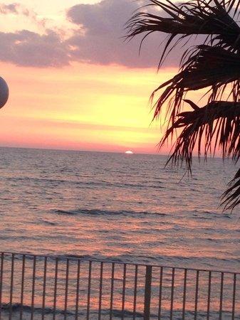 Dioscuri Bay Palace Hotel : Sunset ...