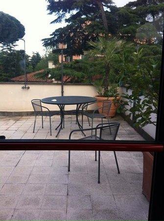 Roof garden at Relais 6