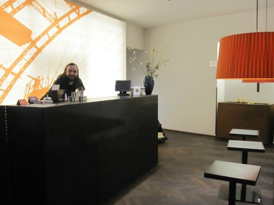 Hotel Hollmann-Beletage: Reception area