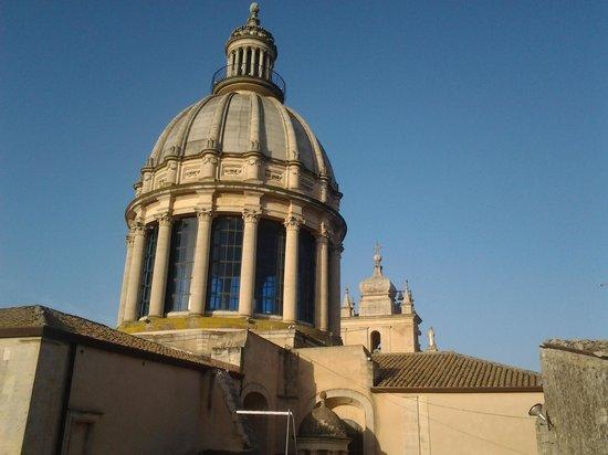 Alla Corte di Morfeo: vista dal balconcino della camera da letto