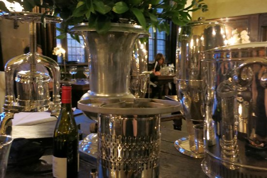 The George Of Stamford: Silver service
