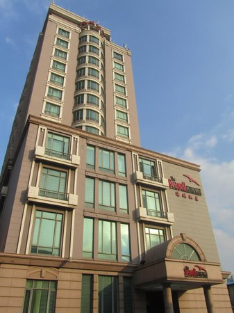 The Seagull on the Bund Hotel : Frontis del Hotel