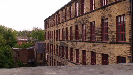 Leeds Industrial Museum at Armley Mills: view of holding pond