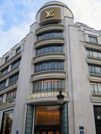 Champs-Élysées : Louis Vuitton on Champs Elysees
