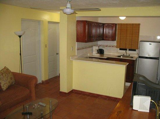 Sosua Suites Condos: Kitchen