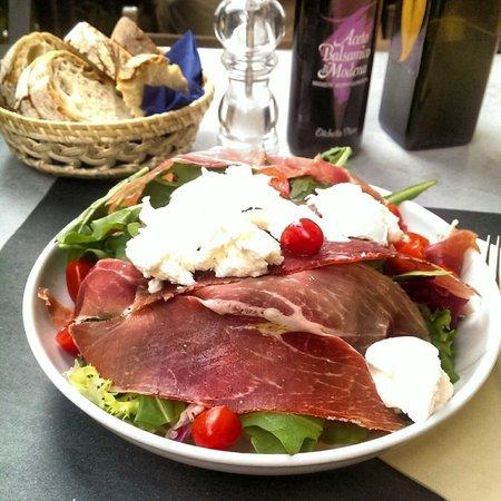 Il Bocconcino: Салат за 9 евро.