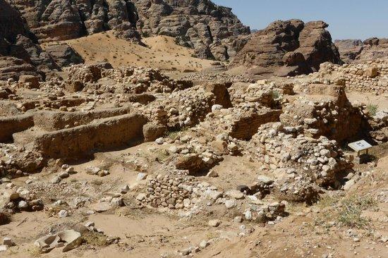 Village néolithique de Beidha : vestiges