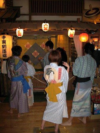 Odaiba Tokyo Oedo-Onsen Monogatari: Игры