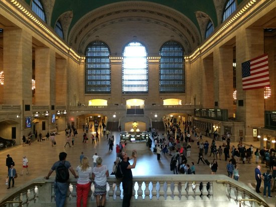 Free Tours by Foot : Grand Central Terminal from Balcony