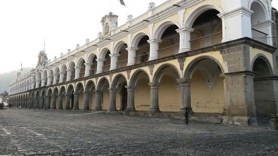 Palacio de los Capitanes Generales: Arcos