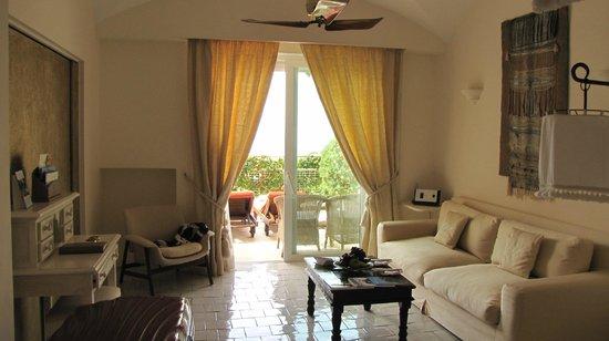 Capri Palace Hotel & Spa : notre suite