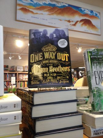 Malaprop's Bookstore and Cafe: Signed books