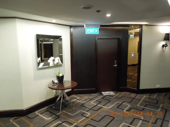 InterContinental Wellington : Updated Hallways