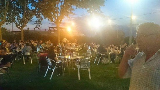 bar deportivo: Terraza de verano
