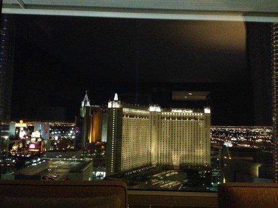 ARIA Resort & Casino : Vegas Night Sky!