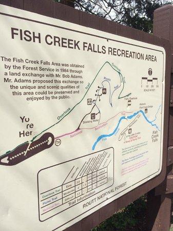 Fish Creek Falls : Trail guide