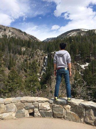 Fish Creek Falls : .2 miles into the upper trail
