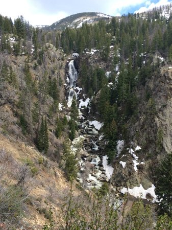 Fish Creek Falls: Upper trail outlook point