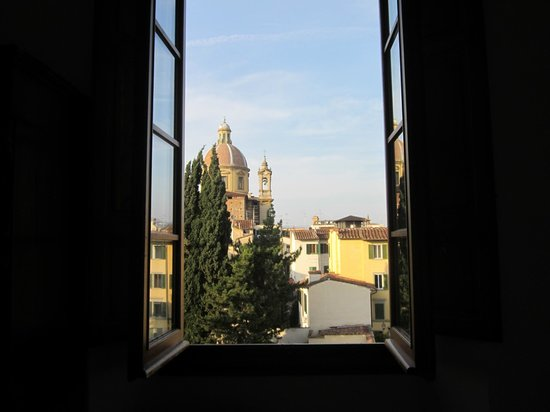 Casa Santo Nome di Gesu: View from our room