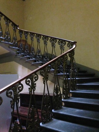 lovely staircase in Casa Santo Nome Di Gesu