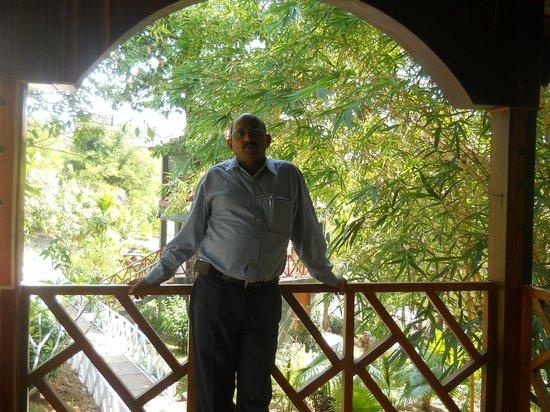 Rose Valley Port Blair Island Retreat: Balcony of room