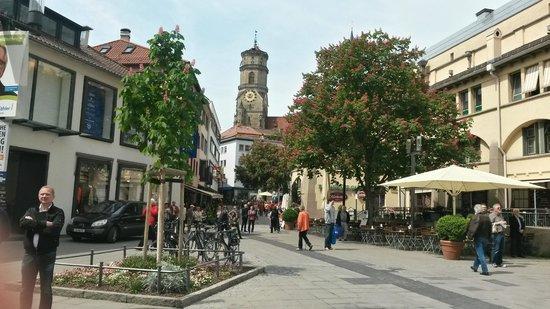Königstraße: Вид на торговую площадь