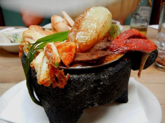 Old Town Mexican Cafe: fantastic mini molcajete