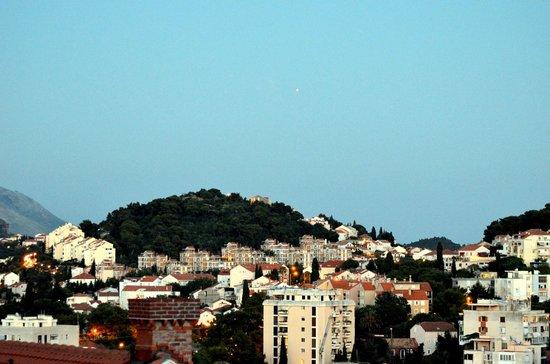 Villa Boro : Лапад. Вид с балкона