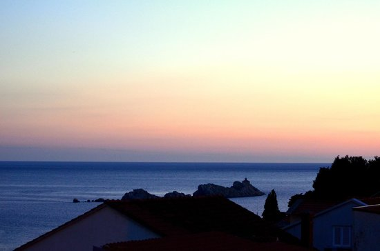 Villa Boro : Закат. Вид с балкона