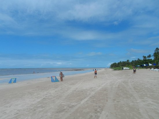 Salinas do Maragogi All Inclusive Resort: Praia tranquila