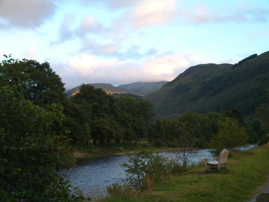 Achintee Farm: view from the banks of the Nevis
