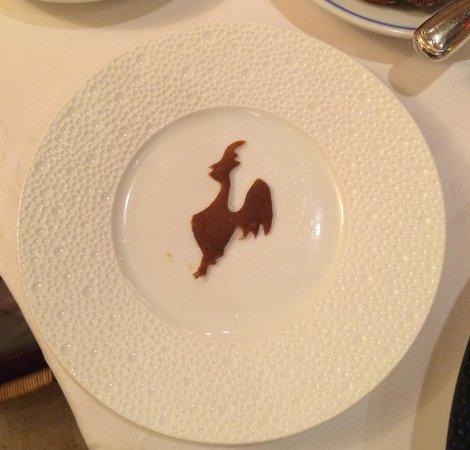 Restaurant Georges Blanc : La Poularde