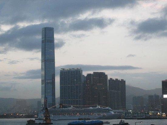 Grissini (Grand Hyatt Hong Kong): View from Dinning Room