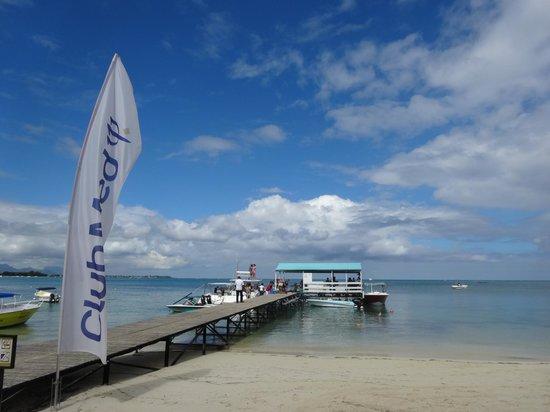 Club Med La Pointe aux Canonniers : le ponton