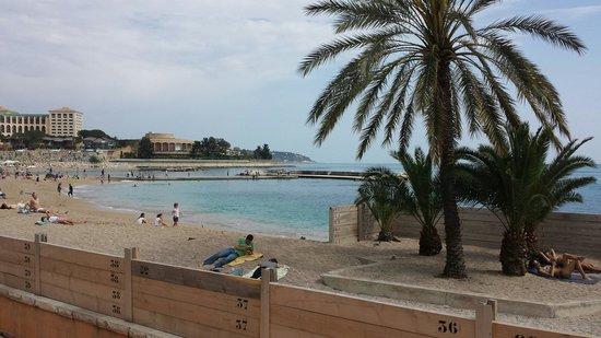 Larvotto Beach: The beach in Monaco